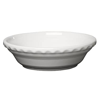 Fiesta 6-3/8-Inch Small Pie Plate, White