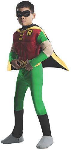 Rubies 3 882309 m - Disfraz de Robin para niño (5 años) (talla M)
