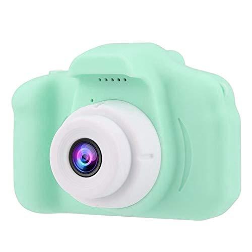 Innerternet Kinder Digitalkamera 2.0 LCD Mini Kamera HD 1080P Kindersportkamera,Eingebauter 200mA Akku Wiederaufladbar Digital Fotokamera,Kinderkamera 32G TF Karte Spielzeug (Grün)