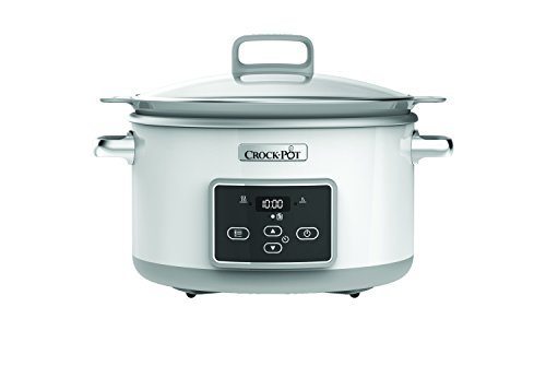 Crock-Pot CSC026 Duraceramic Saute Slow Cooker, 5 Litre by Crock Pot
