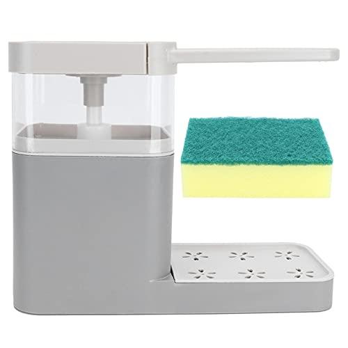 01 Soporte de Esponja, diseño Desmontable de Plato con Soporte de Esponja para Cocina para baño
