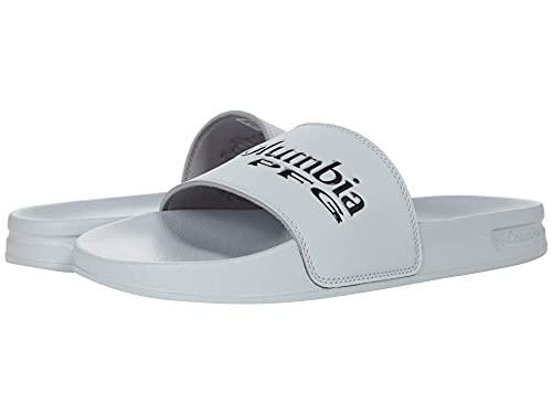 Columbia Men's Tidal Ray PFG Slide Sport Sandal, Steam/Black, 9