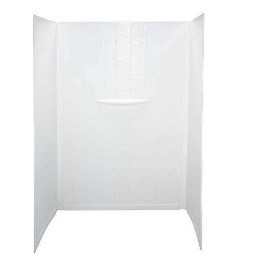 Lippert 306207 Better Bath 24' x 40' x 58' RV Bath Tub Surround Wall White