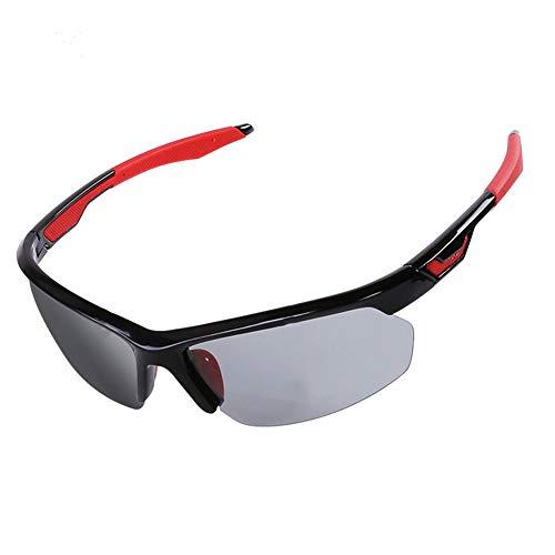 YFFS Gafas De Sol Polarizadas, Gafas De Protección UV400, Borde De Aleación De Al-MG,Gafas Ligeras para Hombres, Conducción, Pesca, Golf Al Aire Libre (D)