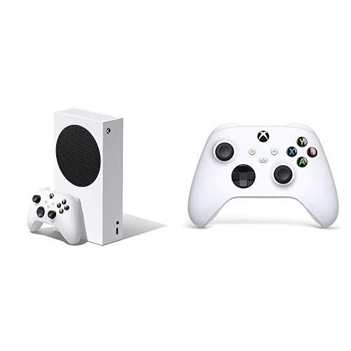 Pack Xbox Series S + Manette Robot White