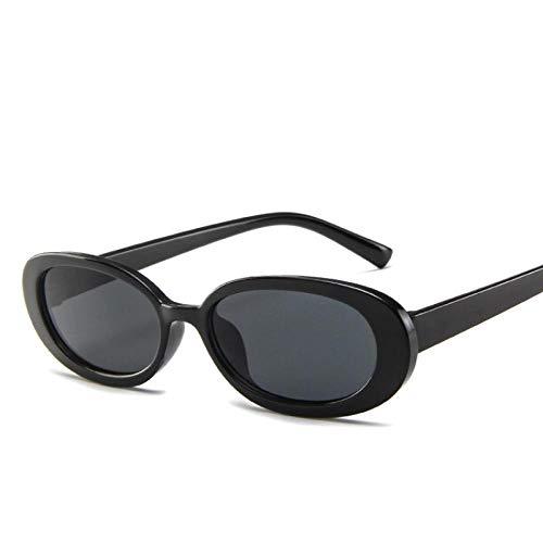 Gafas De Sol Polarizadas Estilo Pequeñas Gafas De Sol Ovaladas Mujeres Vintage Retro Marco Redondo Blanco Negro Hombres Gafas De Sol Leopardo Hip Hop Gafas Transparentes Uv400