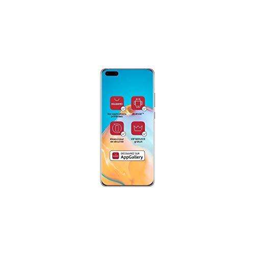 Huawei P40 Pro Plus 5G Dual-SIM (512 GB Storage, 8GB RAM) (No PlayStore) - Ceramic White Phone