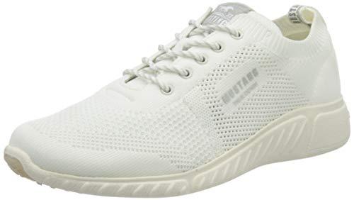 MUSTANG Damen 1315-307 Sneaker, Weiß (Weiß 1), 40 EU