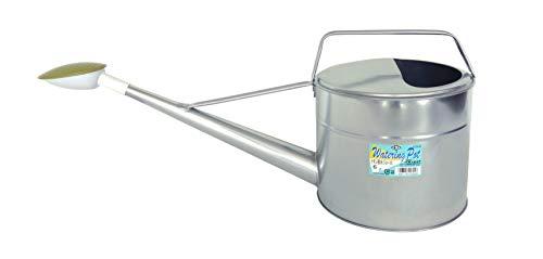 尾上製作所(ONOE) ホワイト じょうろ トタン散水ジョーロ 6L 水やり・園芸用 ブリキ製 奥行23.8×高さ20.8×幅61.1cm