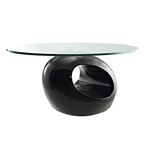 DecoInParis Table Basse Design en Verre MAXUS (Noir)