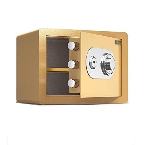 YWSZJ Cajas Fuertes contraseña, Bloqueo mecánico Caja de Seguridad ignífuga y Resistente al Agua joyería Safe Home Office Hotel Enterprise Storage Efectivo Documento Objetos de Valor