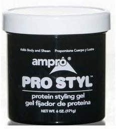 Ampro - Pro Style Ranking TOP8 Protein Max 75% OFF Styling 12 6 Gel Cases oz of