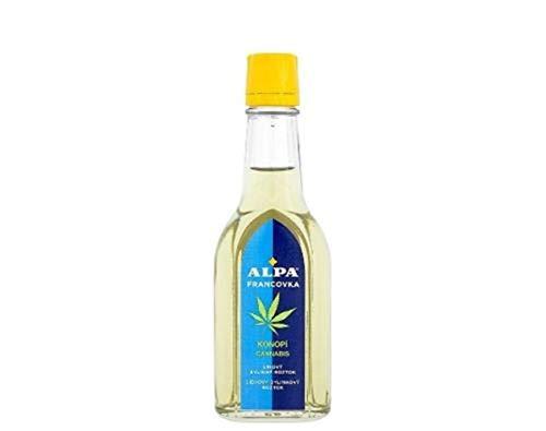Alpa Francovka Czech Alcohol Herbal Tincture Essential Oils (Alpa Cannabis 60ml)