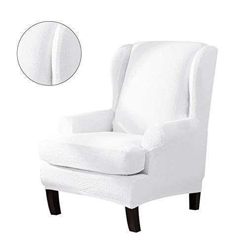 Freedomanoth Sesselhusse Elastisch Stretch Ohrensessel Überzug Bezug Schutzhülle Für Elastische Sessel Abnehmbare Sofabezüge 79 X 80 X 95cm / 30,10 X 31,50 X 37,40in