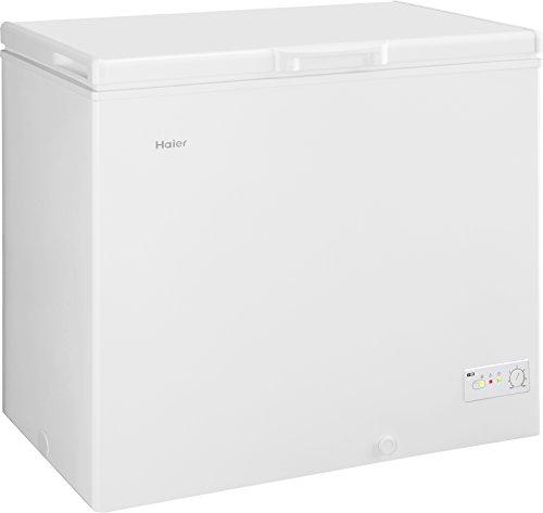 Haier BD-203RAA Congélateur/A + / 85,0 cm de hauteur / 223 kWh/an/réfrigérateur / 203 L partie congélateur/Volume utile/Indicateur d'alarme en cas de panne/Blanc