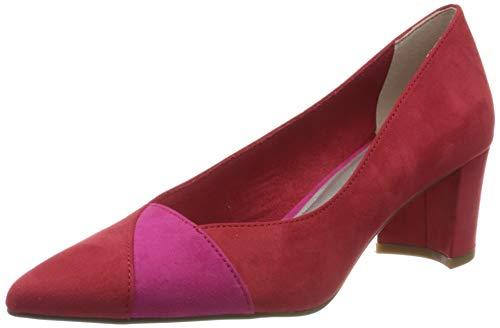 MARCO TOZZI Damen 2-2-22426-24 Pumps, Rot (Red/Pink 570), 36 EU