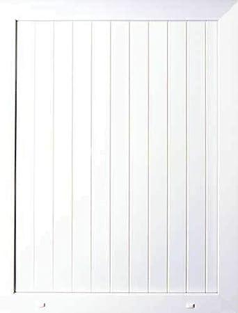 20mm PVC uPVC White Half Door Panel 20mm 24mm 28mm 790mm x 950mm Roe T/&G