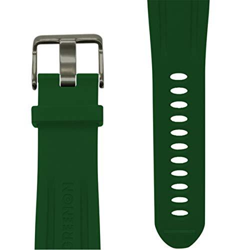 グリーンオン(GreenOn) GA-BGR 共通シリコンベルト グリーン GA-BGR グリーン