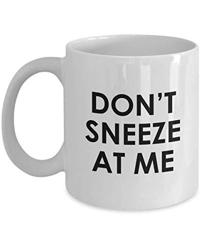 N\A Regali di Corona Virus - Divertente Regalo di Coronavirus - Tazza Covid-19 - Regali di Quarantena - Autoisolamento - Distanziamento Sociale - Don 't Sneeze At Me