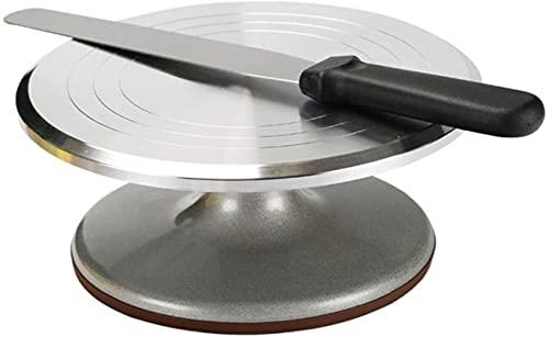 Pantalla giratoria giratoria de la torta giratoria de la aleación de aluminio de 8 pulgadas con espátulas de 8 pulgadas, suministro de