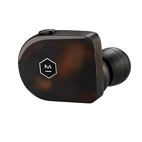 Master & Dynamic MW07TS MW07 True Wireless Earphones - Bluetooth Enabled Noise Isolating Earbuds - Lightweight Quality Earbuds for Music, Tortoiseshell