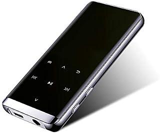 XWY Mp3 Players with Bluetooth 4.2, Mini Portable HiFi Lossless Sound Quality Music Speaker MP4 Media FM Radio Recorder Su... photo
