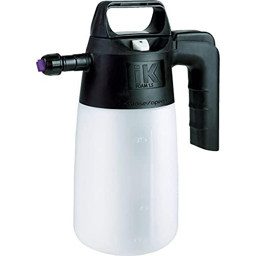 iK FOAM 1.5 PUMP SPRAYER | 35 oz | Professional Auto Detailing; Dry / Wet Foam Spray