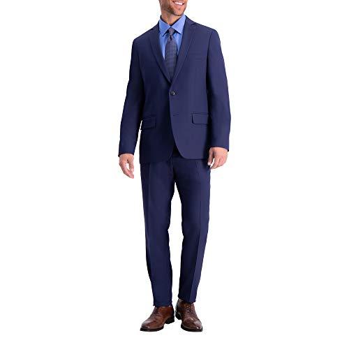 Haggar Men's Active Series Stretch Slim Fit Suit Separates - Midnight Jacket, 44R