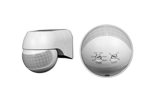 Sensore Movimento Infrarossi Pir Crepuscolare Rileva Presenza Luci Lampade Faro