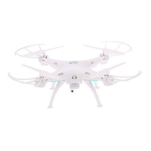 Goolsky LiDi RC L15W 2.4G 4CH 6-Axis Gyro FPV WiFi Trasmissione Drone con 0.3 MP Macchina Fotografica RC Drone Quadcopter, Altitudine Tenere & 360° Flip & Ritorno di Un-Chiave