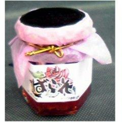 【万汐農園】バラの花ジャム(赤) 120g