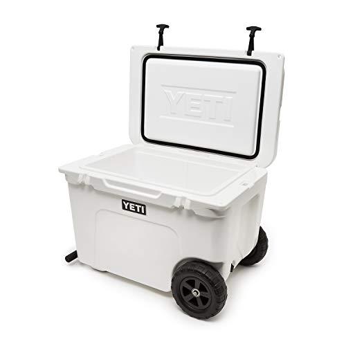 Product Image 1: YETI Tundra Haul Portable Wheeled Cooler, White