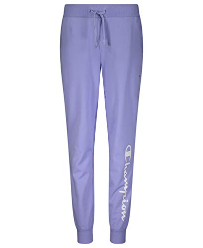 Champion Girls French Terry Pull On Sweatpants Jogger Kids Clothign (Land Ice Heritage, X-Large)