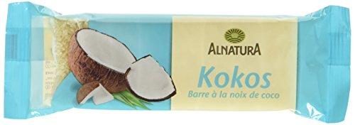 Alnatura Bio Fruchtschnitten Kokos, vegan (1 x 75 g)