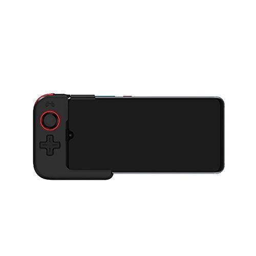 Manette de Jeu Seule Main Bluetooth 5.0 Gamepad sans Fil for Iphone Huawei Téléphone Portable for PUBG Jeu Design Ergonomique (Color : Black, Size : One Size)