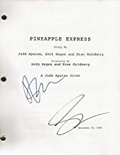 Seth Rogen James Franco Signed In-person Pineapple Express Script