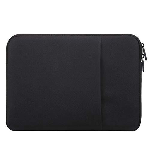 Schutzhülle für Apple MacBook Air 13 Pro 13 Zoll (33 cm), Velours, für iPad Pro 12.9 2017 2018 2016 2015 Tablet Sleeve schwarz Schwarz