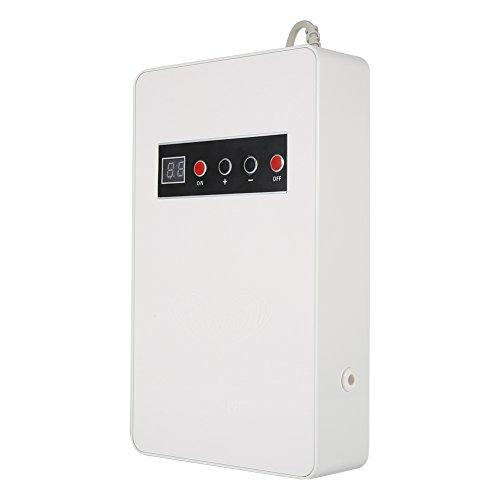 Ozonizador, Ozonizador Doméstico, Generador de Ozono, de Material ABS, para Purificar El Aire de La Habitación, Esterilizar Vegetales, Frutas, Etc(Blanco)