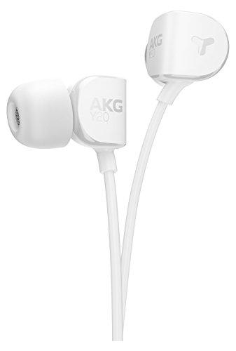 AKG Y20 Soft Touch Cuffie con Filo, Sacchetto di Trasporto, 3 Misure di Auricolari Sostituibili,...