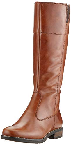 Tamaris Damen 1-1-25542-23 Hohe Stiefel, Braun (Cuoio 455), 39 EU