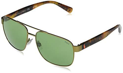 Polo Ralph Lauren Gafas de sol cuadradas Ph3130 para hombre