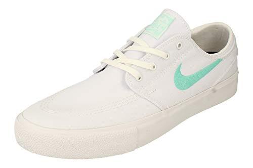 Nike Zoom Janoski Cnvs RM Hombre Trainers AR7718 Sneakers Zapatos (UK 10.5 US 11.5 EU 45.5, White Tropical Twist White 104)