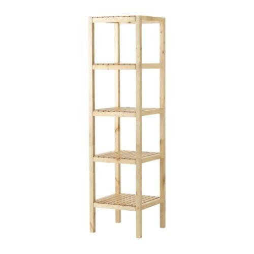 Ikea MOLGER–Estantería, Abedul