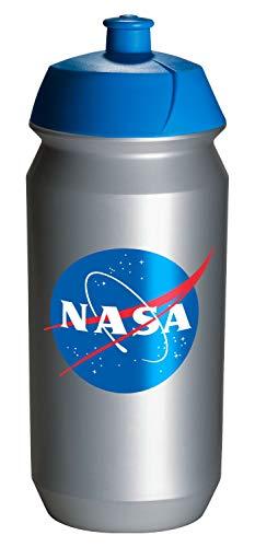 Baagl Escuela Botella para niñas y jóvenes, para deporte y ocio, botella de agua para guardería, sin BPA, 500 ml (NASA)