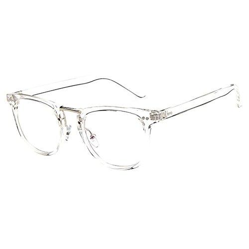 forepin reg; Dame Durchsichtig klare Linse Klarglas Brille Rahmen Mädchen Unisex Gläser Wechselgläser Brillenfassungen