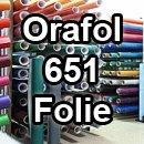 Oracal 651 - Orafol Folie Meterware 100 cm Folienhöhe Farbe 41-pink - glänzend, für Küchenschränke und Dekoration, Autobeschriftung,...