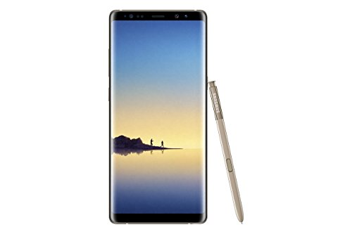 Samsung Galaxy Note 8 Smartphone, Maple Oro, 64GB Espandibili, Dual Sim [Versione Italiana]