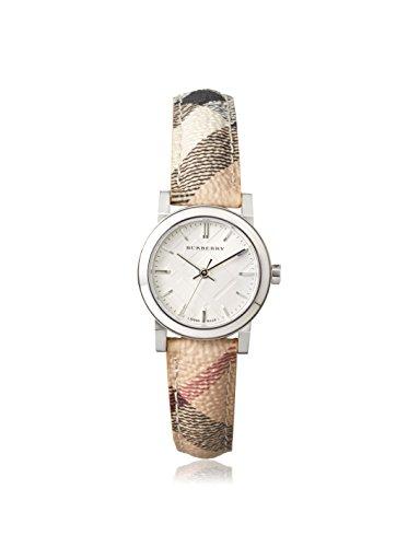 Burberry Damen-Armbanduhr Analog Mehrfarbig BU9222