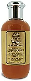 Taylor of Old Bond Street Sandalwood Moisturizing Bath and Shower Gel, 500 ml