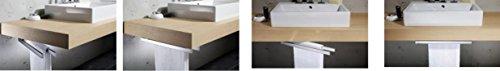 Avenarius Handtuchhalter für Badmöbel Untertischmontage zweiarmig
